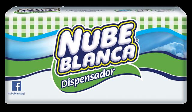 Nube Blanca dispensador 100 unidades