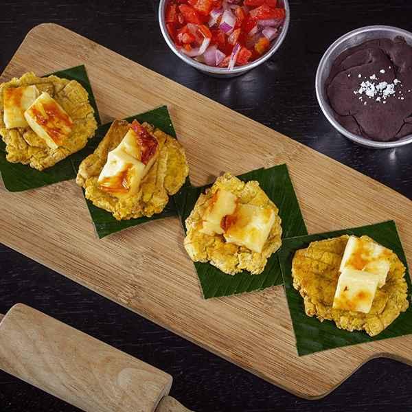Tostones de queso Nicaragua